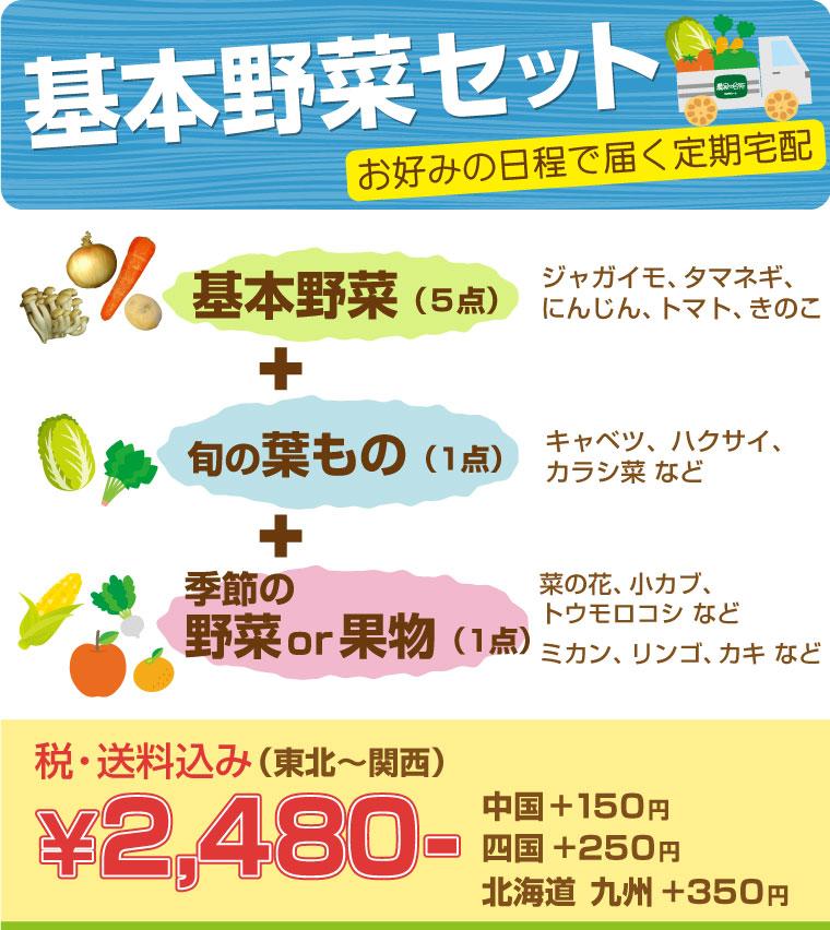 基本野菜セット